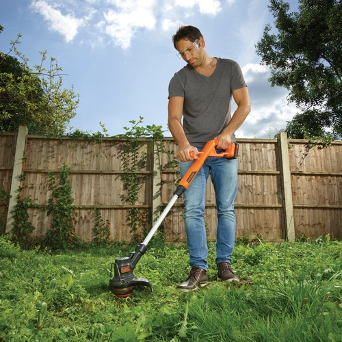 Black and Decker - 18V 28CM 40Ah Easy Feed String Trimmer - STC1840PC
