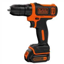 Black and Decker - Ultrakompaktn aku vtaka 108 V LiIon v kufri - BDCD12K
