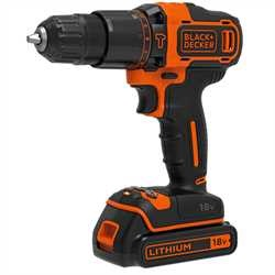 Black and Decker - Aku prklepov vtaka 18V  - BDCHD18KB