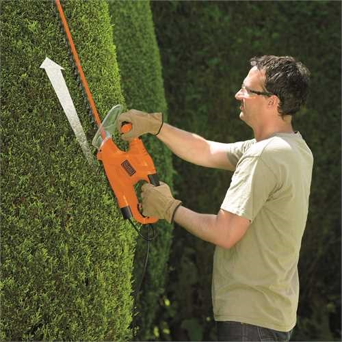 Black and Decker - Nonice na iv ploty 450 W lita 50 cm - GT4550