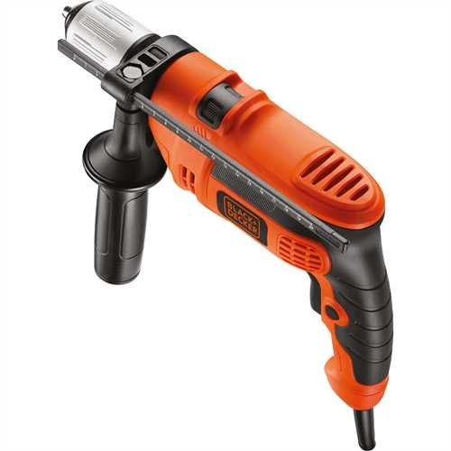 Black and Decker - Vrtac kladivo s pklepem 600 W - KR604CRESK