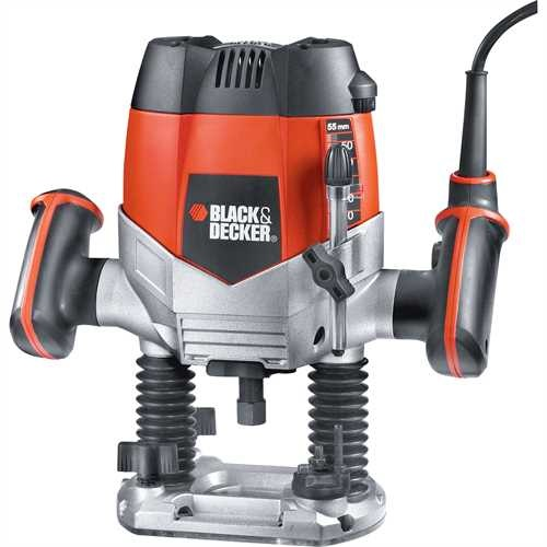 Black and Decker - Frzka 1 200 W 14  5 kusov prsluenstva - KW900E